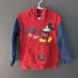 Disney Store Mickey Mouse One of a kind red hoodie
